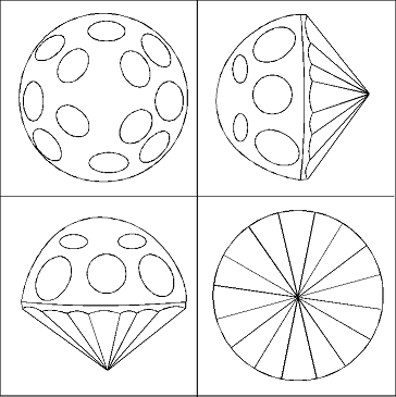 Facet Diagrams For Cutting Gemstones