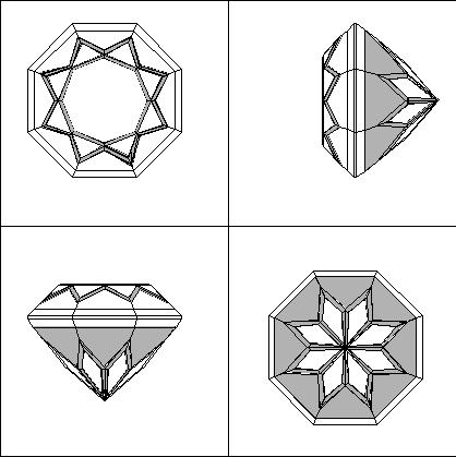 Facet Diagrams for Cutting Gemstones - FacetDiagrams org